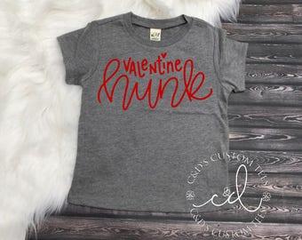 Boys Valentine Shirt - Valentines Day Shirt - Valentine Hunk Shirt - Heart Breaker Shirt - Valentines Day Tee - Valentines Day