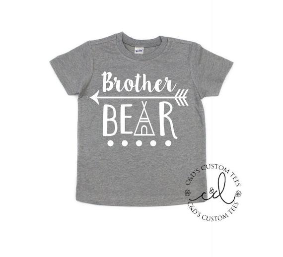 Bear T Shirts Big Bro Toddler Shirts Bear T Shirts Big Brother Bear T-Shirts