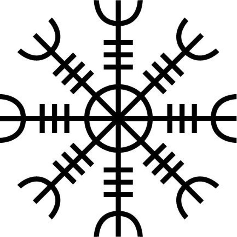 1e0f3dad2 The Helm of Awe and Terror Aegishjalmur/Aegishjalmr Custom | Etsy