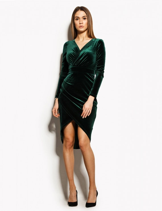 Emerald Cocktail Dress