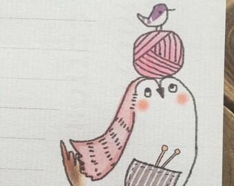 Regular paper / Owl - H