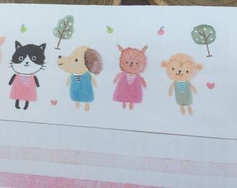 Regular envelope / Animal Kids