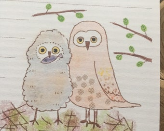 Regular paper / Owl - F.