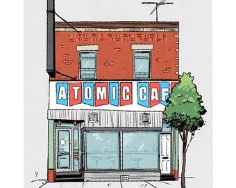 Montreal Print - Atomic Cafe wall art