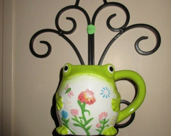 Frog Cup Planter