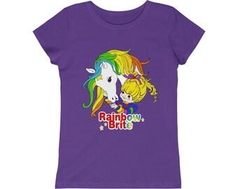 d6f2583958c Rainbow Brite Girls Princess Tee Retro 80 s