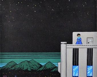 In the Year 200X - Mega Man 2 Tribute Print