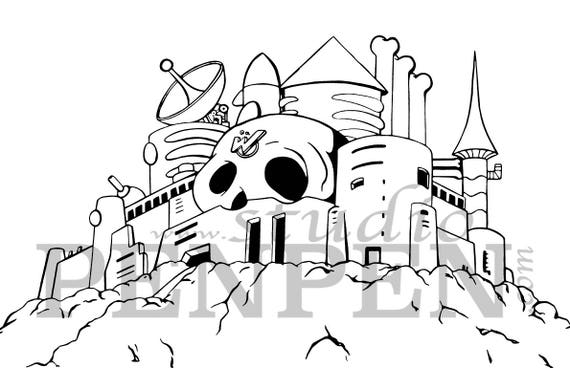 - Wily's Castle Coloring Page Digital Download Etsy