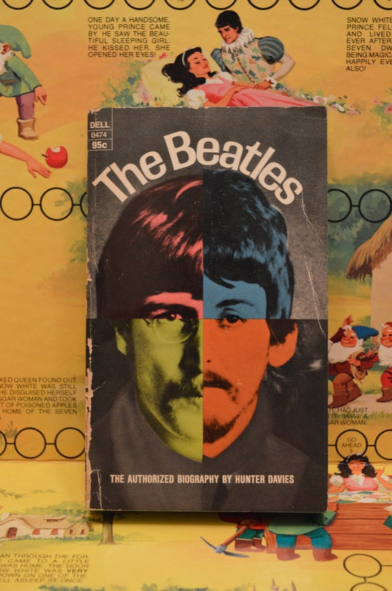 The Beatles The Authorized Biography By Hunter Davies Etsy