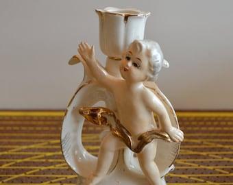 Cherub Candle Holder