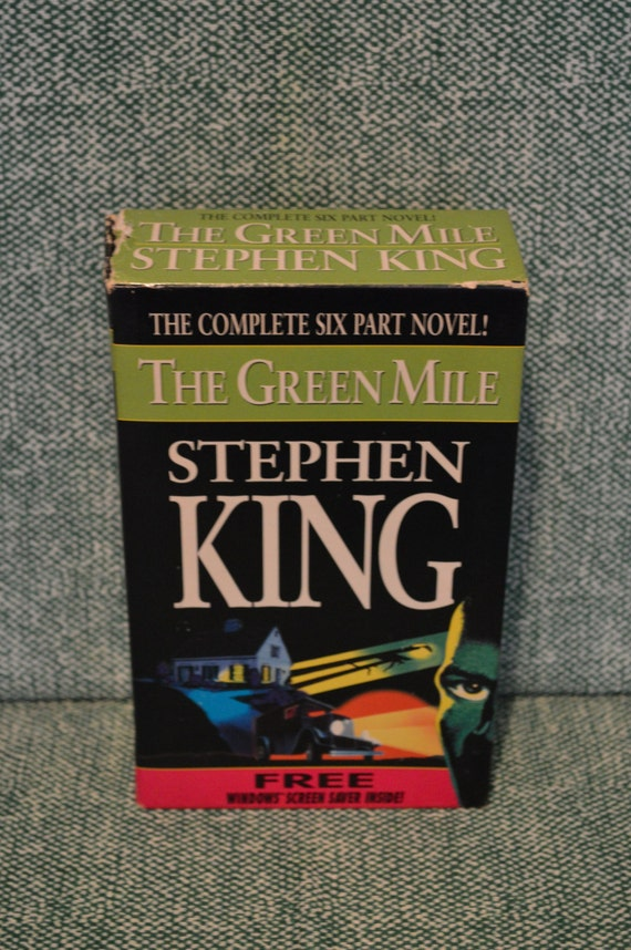 Stephen King The Complete Six Part Novel The Green Mile Etsy