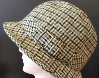 5c5f241761757 REDUCED Vintage Unisex Wool Plaid Bucket Hat by Sears - Traditional  Collection, Size L
