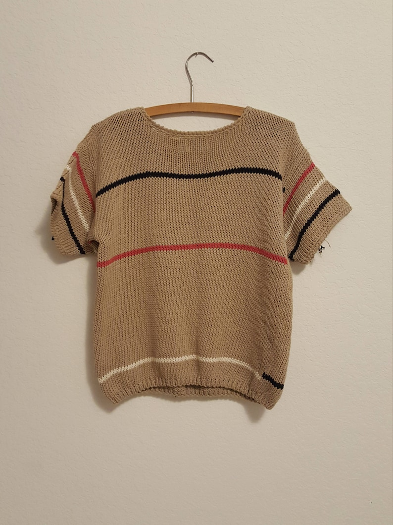 Fantastic Women/'s Vintage Hand Knitted for Ragatta Sport Sweater Blouse Size L