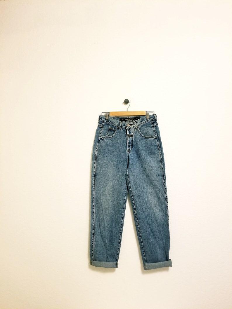 de3269b2 Vintage 90s Marithe Francois Girbaud Designer Denim Boyfriend   Etsy