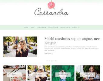Free Installation - Wordpress Theme, Wordpress Ecommerce Theme Responsive Blog Theme Design - Cassandra