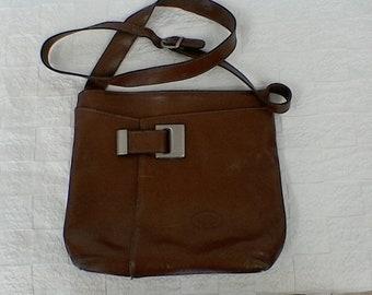 0d635d12ea Sac à main cuir L'ARTIGIANO vintage .