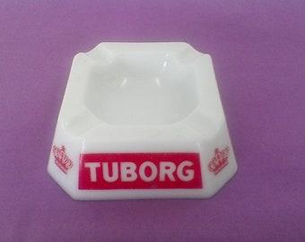 TUBORG bar ashtray, vintage;