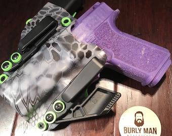Glock 22 Kryptek Raid and Hunter Orange Kydex Holster SideCar | Etsy