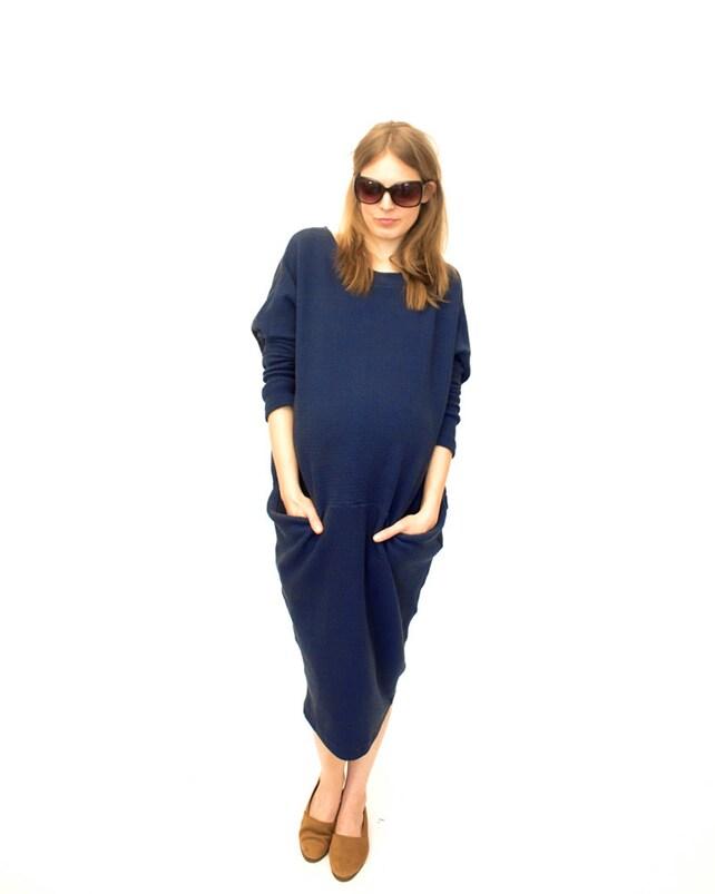 Maxi Kleid für Schwangere 2 Teiler Schnittmuster   Etsy