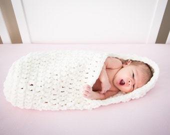 Newborn Baby Swaddle Cocoon, Baby Cocoon, Swaddle Cocoon, Newborn Present, Baby Shower Gift, Newborn Cocoon, Newborn Photo Prop, Baby Gift
