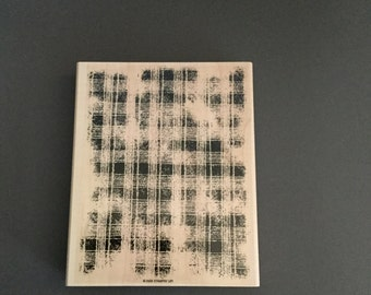 Stampin up wood mounted rubber stamp