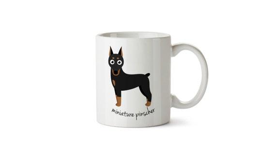 Miniature Pinscher Mug Etsy