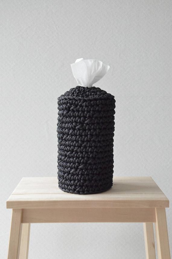Schwarze Küche Handtuchhalter Gewebe-Deckel skandinavischen