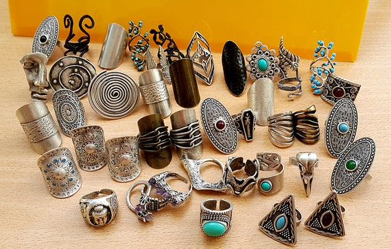 tribal silver ring,berb\u00e8re ring,boho ring vintage ring moroccan Old ethnic ring