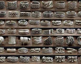 Men ring, Silver signed ring, Men jewelry, Silver men jewelry, Fashion men ring, Band ring, Men ring silver, unisex ring, men Gift, boho men