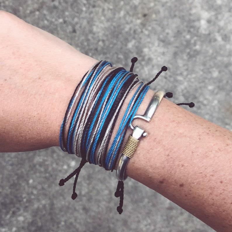 Braided Bracelets Yoga Bracelet Waterproof Bracelet Surfer Bracelet Sting Bracelets Kids Jewelry