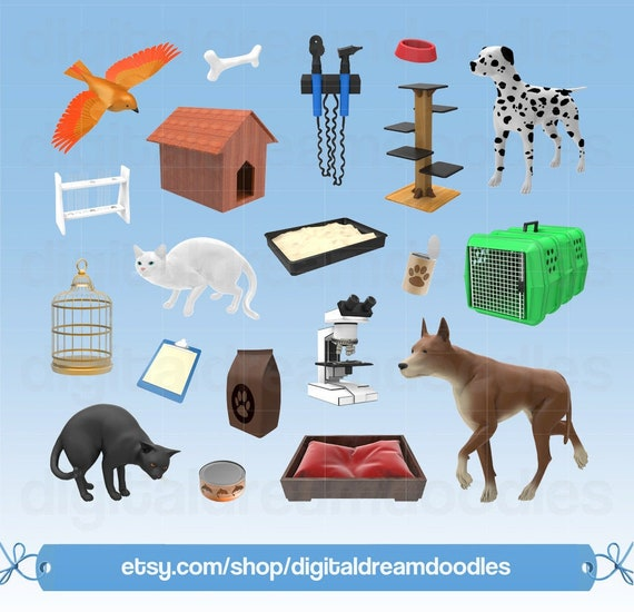 Vet Clipart Veterinarian Clip Art Veterinary Image Animal Doctor Graphic Animal Hospital Scrapbook Health Pet Clinic Digital Download