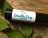 Breathe Easy Essential Oil Roller Breathe Easy Sinus Roller Essential Oil Blends Essential Oil Fusions Natural Sinus Roller