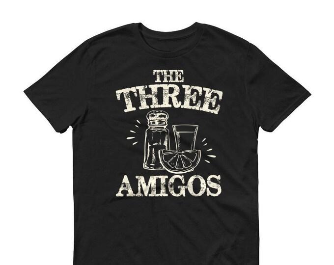 The three amigos t-shirt, Tequila Shirt, funny drinking shirt, tequila shirt, tacos and tequila, funny tequila shirt