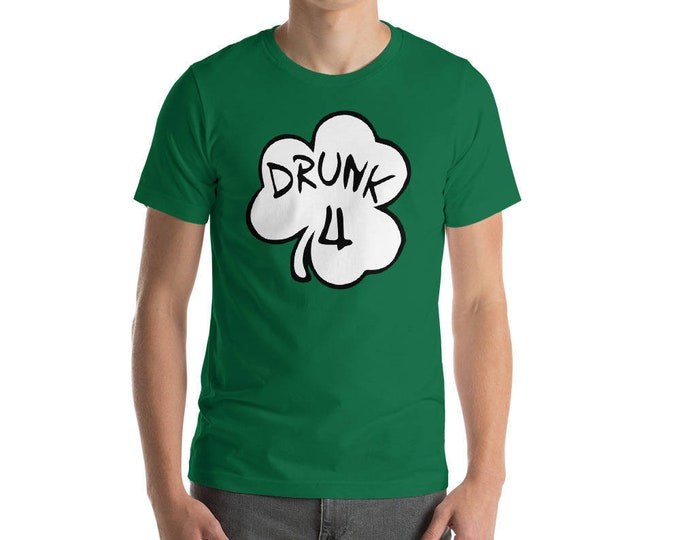 St. Patrick's Day Funny Shirt. Drunk Drinking Shirt for St Patrick Day party Shamrock Shirt Drunk 1 2 3 4 5 6 7 8 9 ...