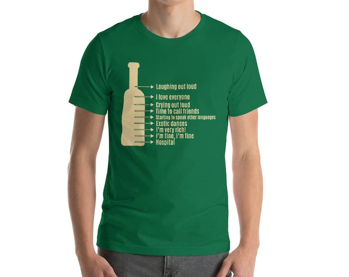 Drinking Scale - funny drinking shirt for st Patrick Cinco De Mayo Halloween