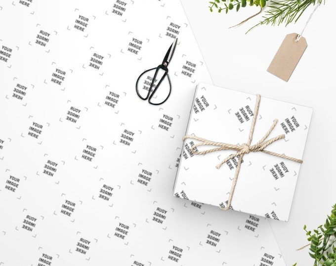 Custom Wrapping Paper - Funny Personalized gift wrapping paper