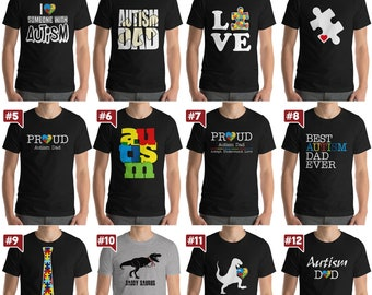 Autism Awareness Shirt | Autism gift for Mom Dad Unisex T-shirt | Autism gift Autism Dad Autism Mom | Autism Awareness | Autism Collection 1