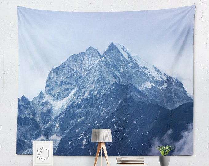 Custom Tapestry Indoor Wall Tapestries Custom Backdrop, Personalize Master bedroom wall decor over the bed Image Custom photo hanging