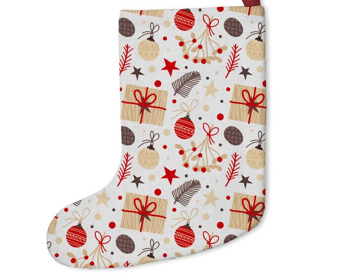 Custom Christmas Stockings | Customize With your photo - Logo - Graphic custom text quote