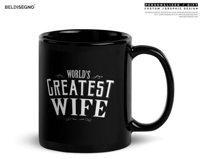 World's Greatest Wife Coffee Mug, wife christmas gift, wife christmas, wife birthday, wife gift idea, wife coffee mug, wife gift Christmas