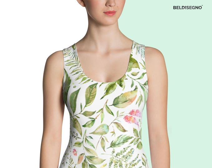 Personalized Sublimation Cut & Sew Tank Top -  Customize With your photo - Logo - Graphic custom text quote