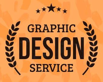 Custom Design Service, Graphic Designer Poster, T-shirt, Artwork, Logo, Invites, Business Cards, Flyers, Banners, Postcard Mug