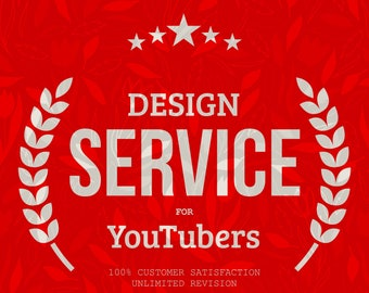 YouTuber Merch, Youtube Banner Custom Graphic design service for YouTuber Merchandise Store