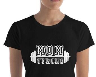 Mom Strong Women's short sleeve t-shirt
