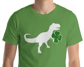 Patrick O'saurus Irish saurus Shirt - Men's St Patrick's Day t-shirt | BelDisegno