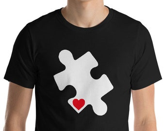 Autism Shirt Autism Awareness | autism puzzle piece | T-Shirt Gift | Short-Sleeve Unisex T-Shirt | Autism Awareness | Autism Shirt