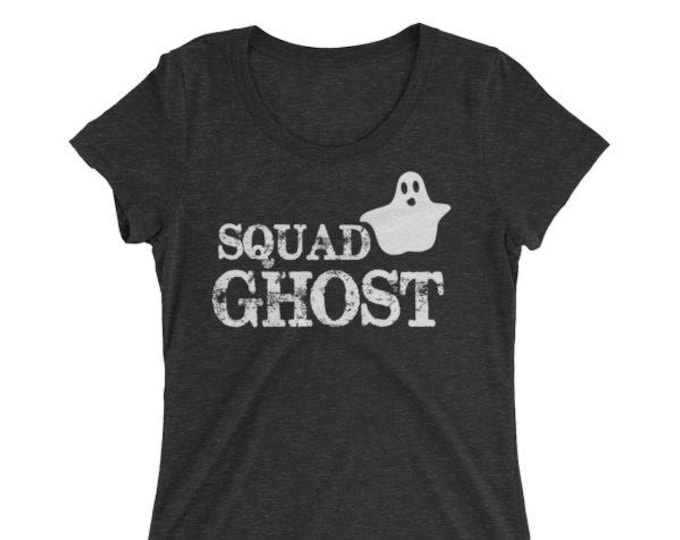 Women's Halloween Shirt Squad Ghost Funny Shirt for Halloween 2017 - Halloween shirt for Women Girl Halloween Party - Squad Ghost T-shirt