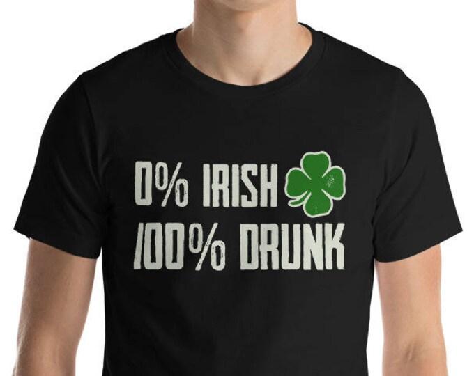 0 Irish 100 Drunk Shirt St Patrick's Day t-shirt | BelDisegno