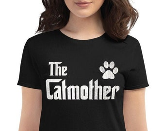 The CatMother t-shirt - Cat lover gift for mom, Cat Mom shirt for cat Lover, gift for cat owners