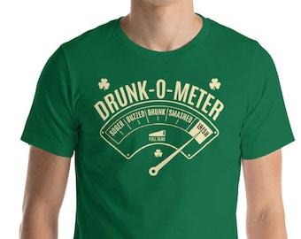 Drunk-o-Meter Drunk Irish Shirt - St Patrick's day